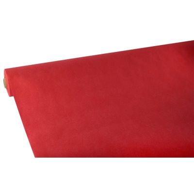 """Tafelkleed Rol Vlies Rood """"Soft Selection"""" 25 x 1,18 meter -horecavoordeel.com-"""