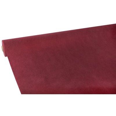 """Tafelkleed Rol Vlies Bordeaux """"Soft Selection"""" 25 x 1,18 meter -horecavoordeel.com-"""