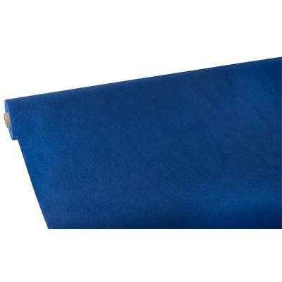 """Tafelkleed Rol Vlies Donkerblauw """"Soft Selection"""" 25 x 1,18 meter -horecavoordeel.com-"""