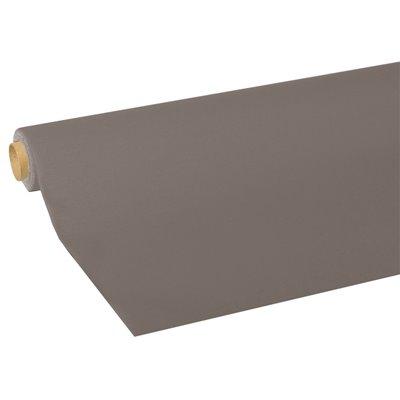 """Tafelkleed Grijs Tissue """"ROYAL Collection"""" 5 x 1,18 meter -horecavoordeel.com-"""