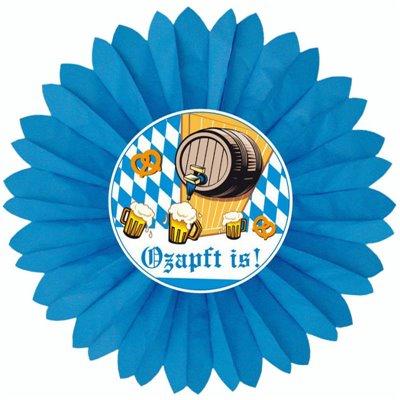 """Decoratiewaaier """"Ozapft is!"""" Ø 600mm -horecavoordeel.com-"""