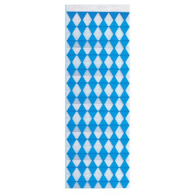 """Wanddecoratie """"Beiers blauw"""" Brandvertagend 1600 x 420mm -horecavoordeel.com-"""