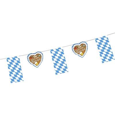 "Vlaggetjes Slinger Papier""Gruß vom Oktoberfest"" 4 meter -horecavoordeel.com-"