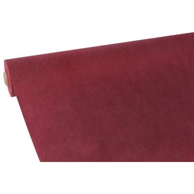 """Tafelkleed Rol Vlies Bordeaux """"Soft Selection"""" 40 x 1,18 meter -horecavoordeel.com-"""