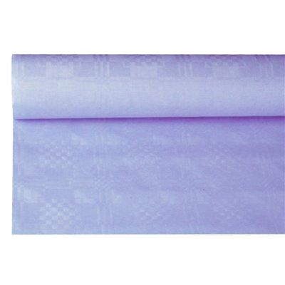 Tafelkleed Papier Rol Lila Met Damastprint 8 x 1,2 meter -horecavoordeel.com-