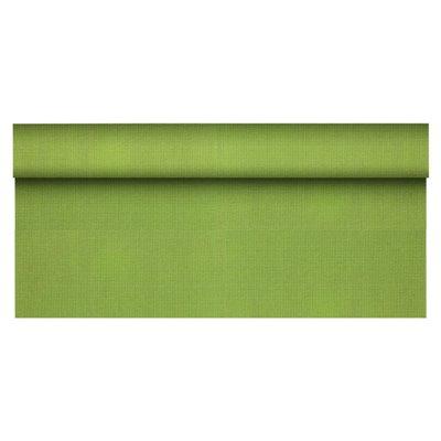 """Tafelkleed Rol Vlies Olijfgroen """"Soft Selection Plus"""" 25 x 1,18 meter -horecavoordeel.com-"""