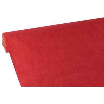 """Tafelkleed Rol Vlies Rood """"Soft Selection"""" 40 x 0,9 meter -horecavoordeel.com-"""