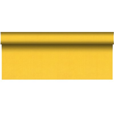 """Tafelkleed Rol Geel Van Pulp Viscose En Tissue Mix """"ROYAL Collection Plus"""" 20 x 1,18 meter -horecavoordeel.com-"""