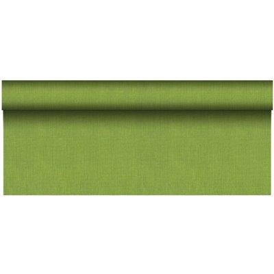 """Tafelkleed Rol Olijfgroen Van Pulp Viscose En Tissue Mix """"ROYAL Collection Plus"""" 20 x 1,18 meter -horecavoordeel.com-"""