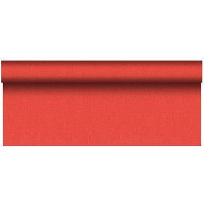 """Tafelkleed Rol Rood Van Pulp Viscose En Tissue Mix """"ROYAL Collection Plus"""" 20 x 1,18 meter -horecavoordeel.com-"""