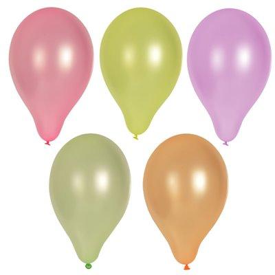 """Ballonnen """"Neon"""" Kleuren Assoriment Ø 250mm -horecavoordeel.com-"""