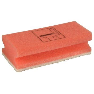 Toiletspons Rood 150 x 70 x 45mm -horecavoordeel.com-