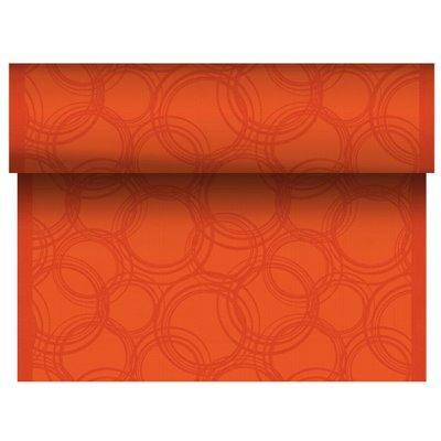 "Tafelloper Nectarine ""Bubbles"" ""Textielkarakter"" Van Pulp Viscose En Tissue Mix ""ROYAL Collection"" 24m x 400mm -horecavoordeel.c"
