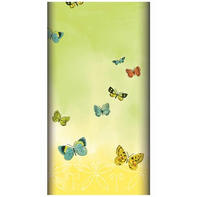 "Tafelkleed Airlaid ""Papillons"" 1200 x 1800mm -horecavoordeel.com-"