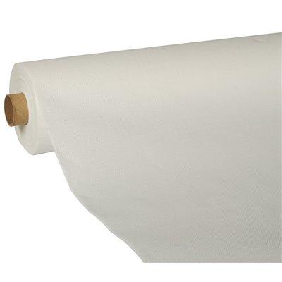 """Tafelkleed Wit Tissue """"ROYAL Collection"""" 25 x 1,18 meter (Klein-verpakking) -horecavoordeel.com-"""