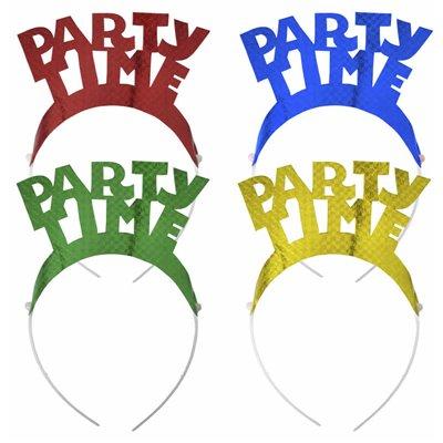 """Diadeem Kleuren Assortiment """"Party Time"""" """"Metallic"""" -horecavoordeel.com-"""