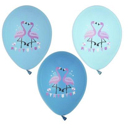 """Ballonnen """"Flamingo"""" Kleuren Assortiment Ø 290mm -horecavoordeel.com-"""