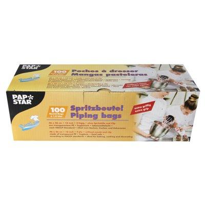 """Spuitzakken """"Extra Grip"""" Transparant 1,8L 460 x 260mm -horecavoordeel.com-"""
