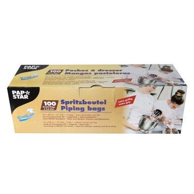 """Spuitzakken """"Extra Grip"""" Transparant 2,6L 530 x 280mm -horecavoordeel.com-"""