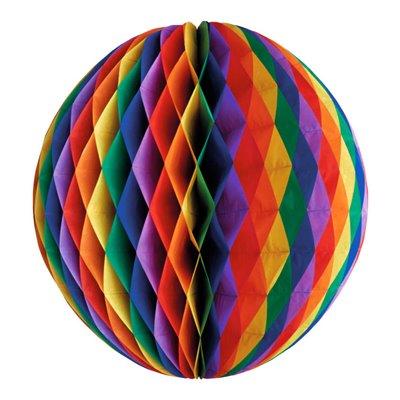 """Decoratie Bal """"Rainbow"""" Brandvertagend Ø 300mm -horecavoordeel.com-"""