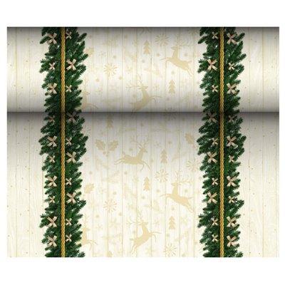 "Tafelloper Airlaid ""Golden Star"" 24m x 400mm -horecavoordeel.com-"