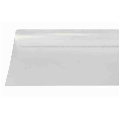 Tafelkleed Plastic Transparant 50m x 800mm (Klein-verpakking) -horecavoordeel.com-
