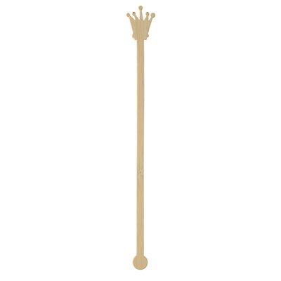 "Roerstaafjes Bamboe ""Pure"" ""Crown"" 200mm -horecavoordeel.com-"