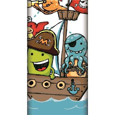 """Tafelkleed papier """"Pirate Crew"""" Met Beschermingslaag 1200 x 1800mm -horecavoordeel.com-"""