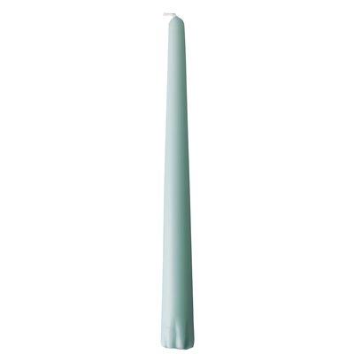 Kandelaarkaarsen Groen 100% Stearine Ø 22 x 250mm