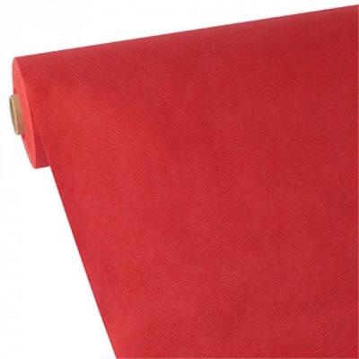 """Tafelkleed Rol Vlies Rood """"Soft Selection"""" 40 x 1,18 meter"""