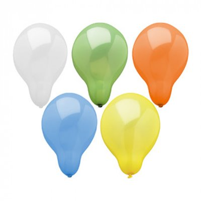 Ballonnen Kleuren Assortiment (Geschikt voor Helium) Ø 29 cm