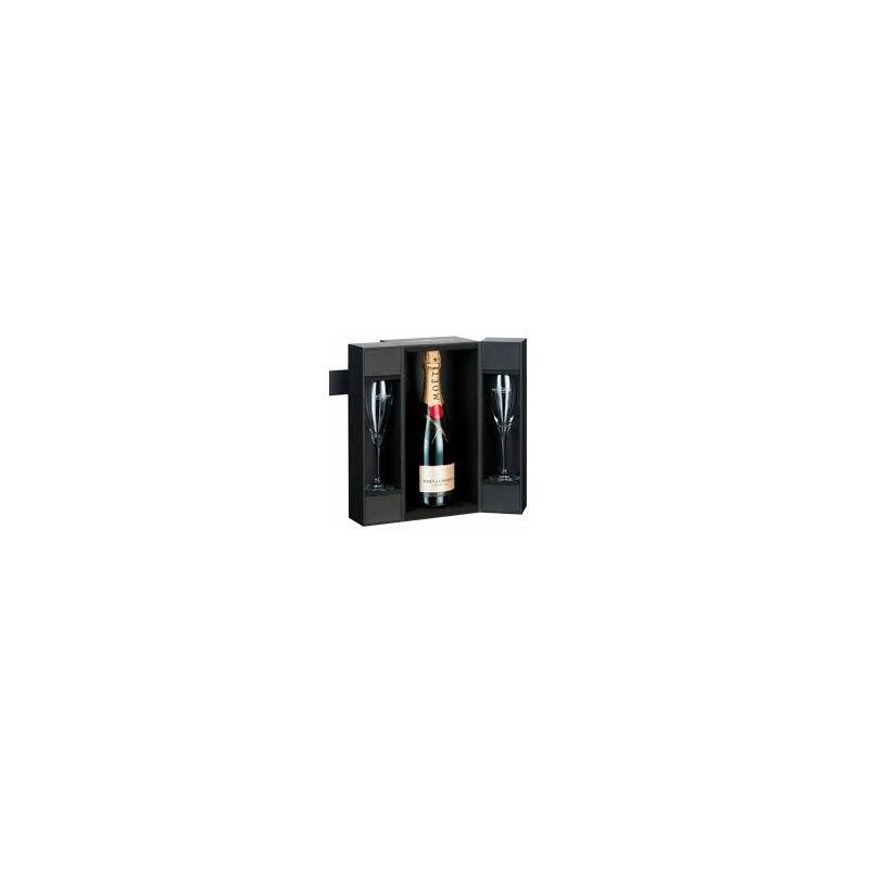 Moët & Chandon Impérial Brut 75cl (Gift Packaging) with 2 flutes