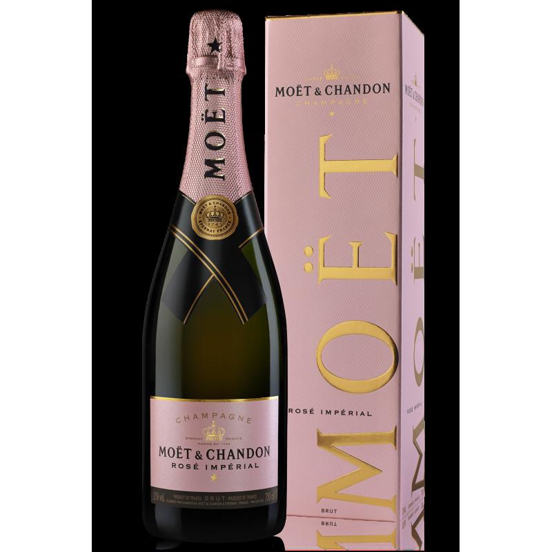Moet & Chandon Impérial Brut Pink 75cl (Gift Packaging)