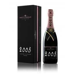 Moët & Chandon Grand Vintage Pink 2008 Chalk 75cl (Gift Packaging)