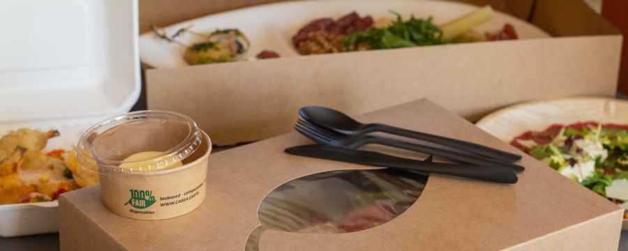 Milieuvriendelijke Cateringschalen & Dozen -Horecavoordeel-