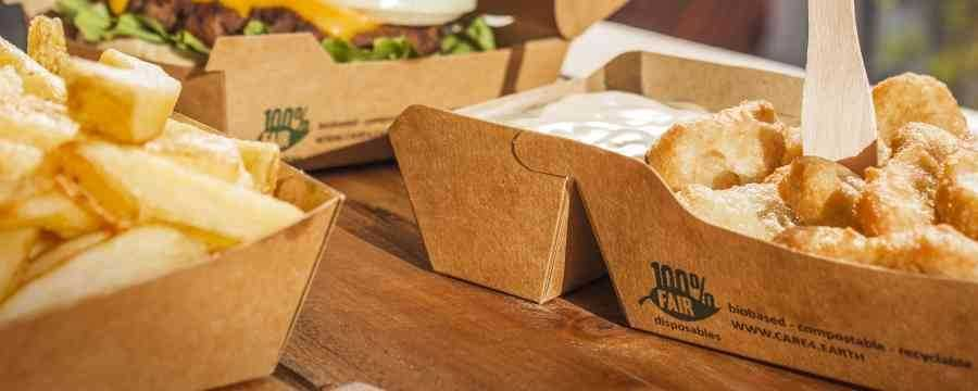 Looking for Biodegradable Snack trays? -Horecavoordeel.com-