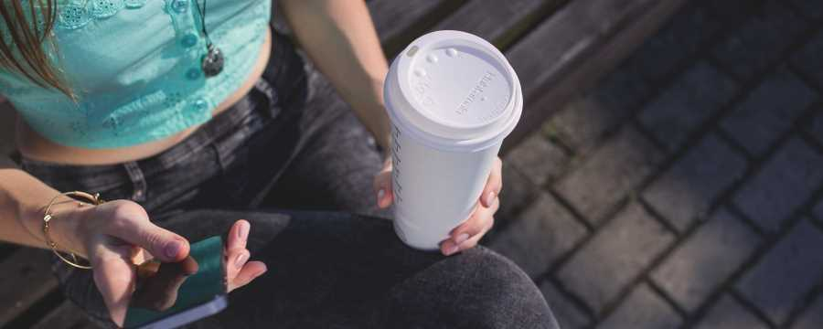 Looking for Sustainable Coffee cups and Lids? -Horecavoordeel.com-