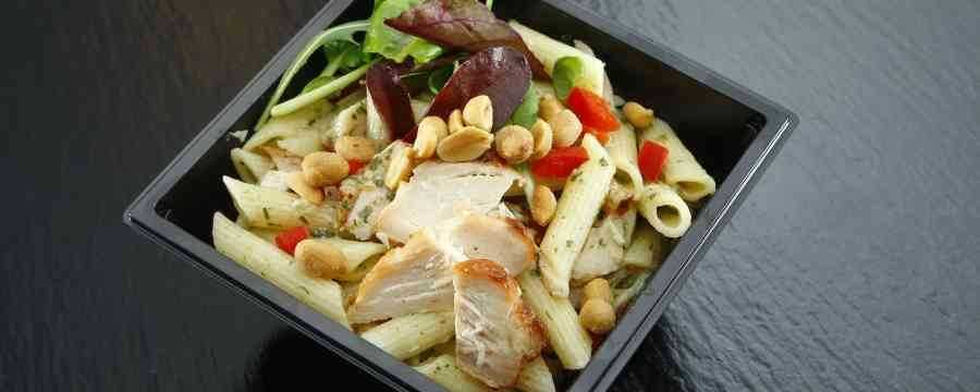 Looking for Sustainable Salad Trays and Lids? -Horecavoordeel.com-