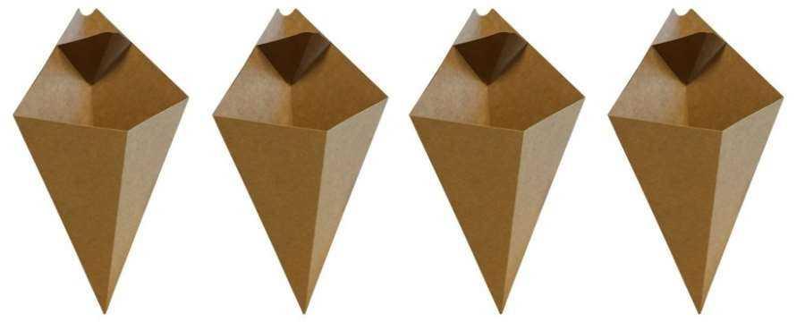 Op zoek naar Duurzame Frietzakken van Karton - Kartonnen Patatzakken? -Horecavoordeel.com-