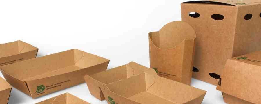 Looking for Sustainable Snack trays made of Cardboard? -Horecavoordeel.com-