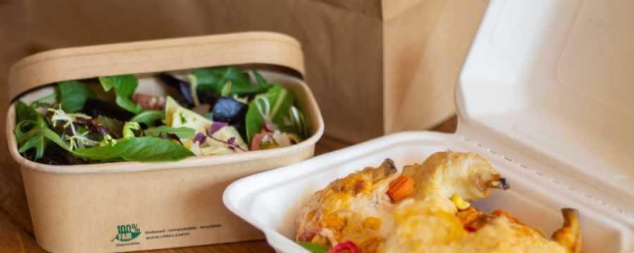 Looking for cardboard Oriental - meal - salad - pasta?