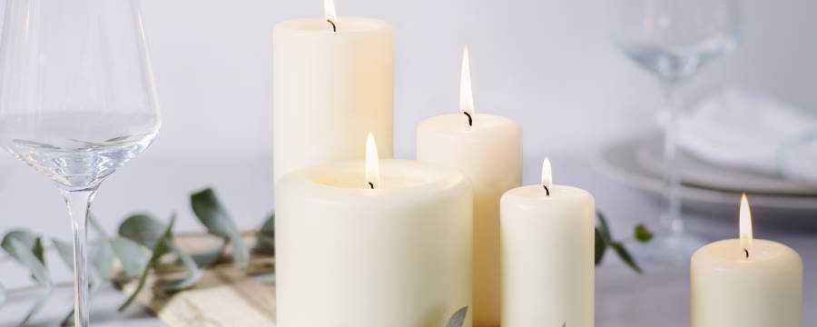 Looking for Restaurant quality Pillar candles? -Horecavoordeel.com-